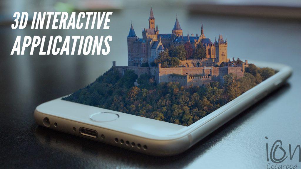 3d Interactive apps