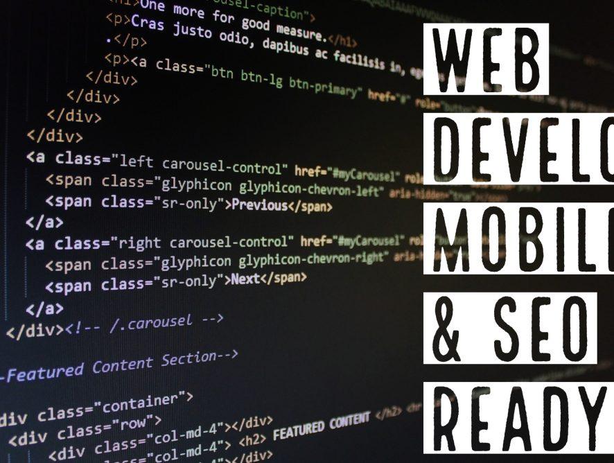 Web Development – Mobile ready